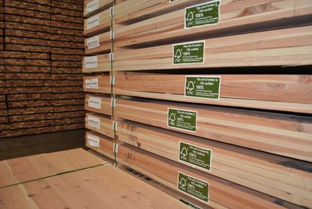 FSC Labelled Plywood