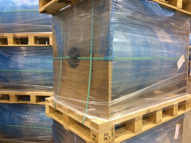 packaging plywood for roll suspension