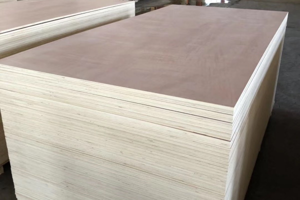 hardwood faced plywood