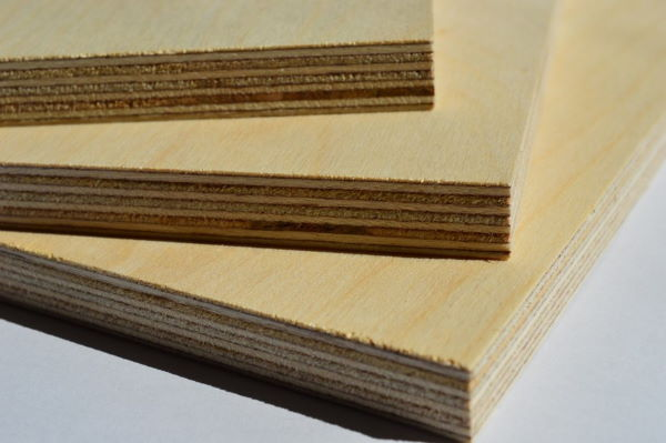 plywood dark glue line