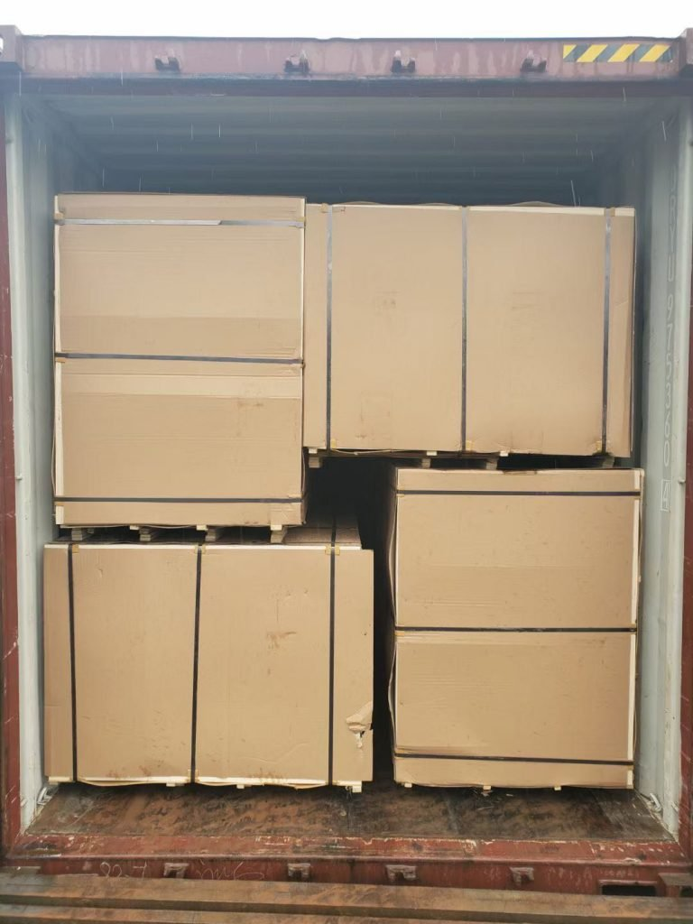 Plywood Loaded in Container