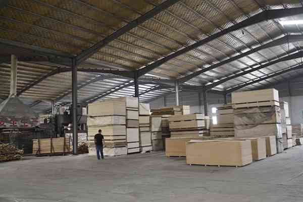 plywood stock factory