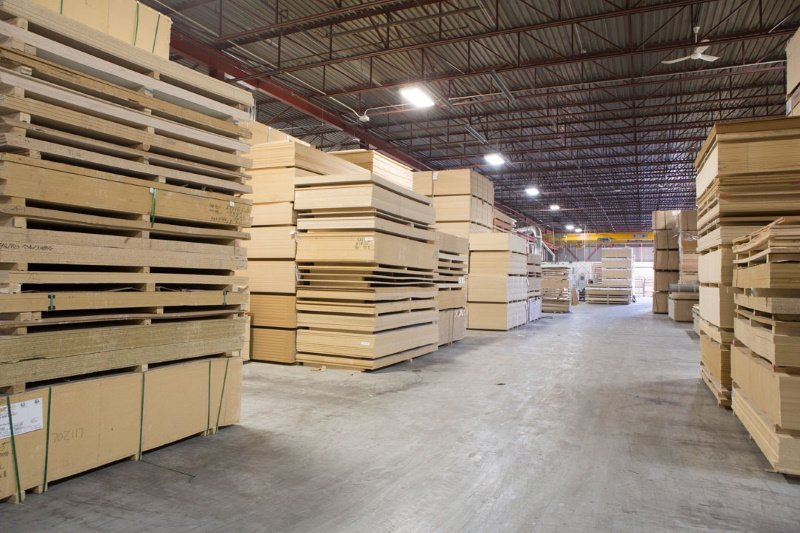 plywood warehouse