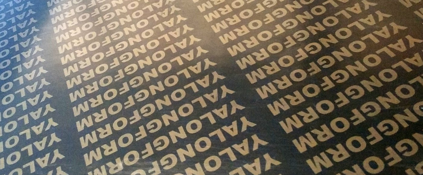 yalongform film faced plywood factory